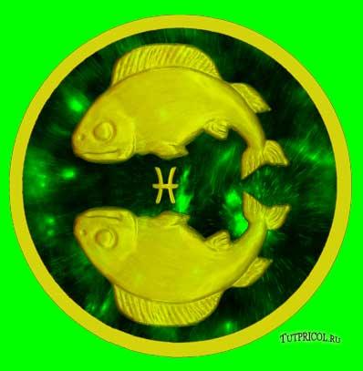 Рыбы - знак воды.  Планеты покровители - Нептун, Юпитер.  Рыбы чувствительны, слабы и хрупки.