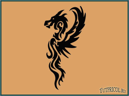 tattoo Дракон