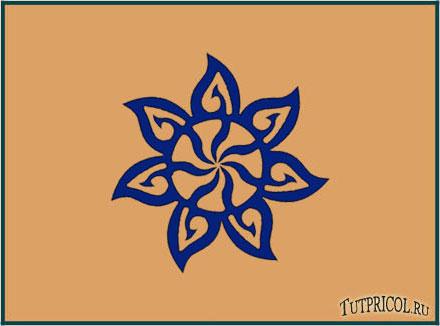 tattoo цветок