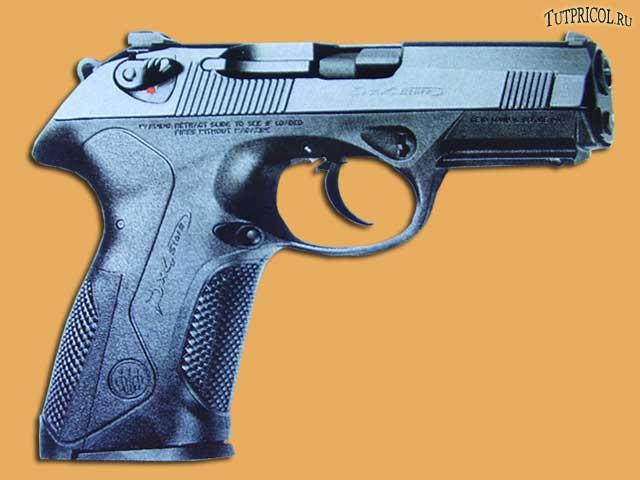 Итальянский пистолет P x 4 STORM
