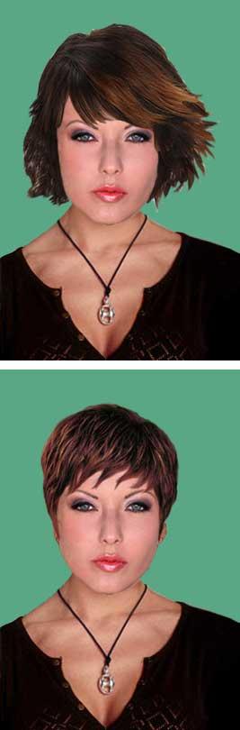 фотографии причёсок
