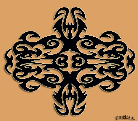 Эскиз татуировки узор