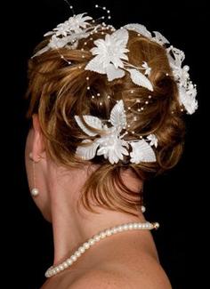 свадебная прическа волос