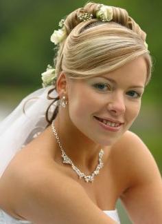 свадьба прически