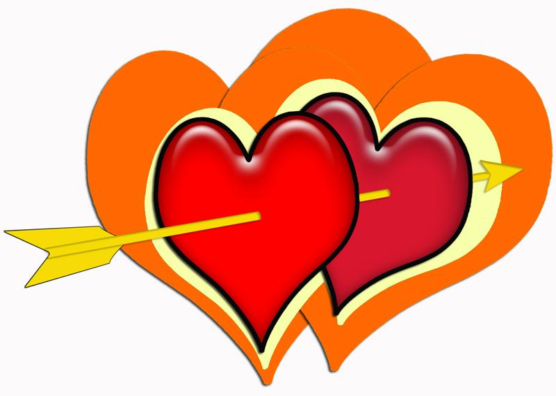 Свадебные плакаты - сердце