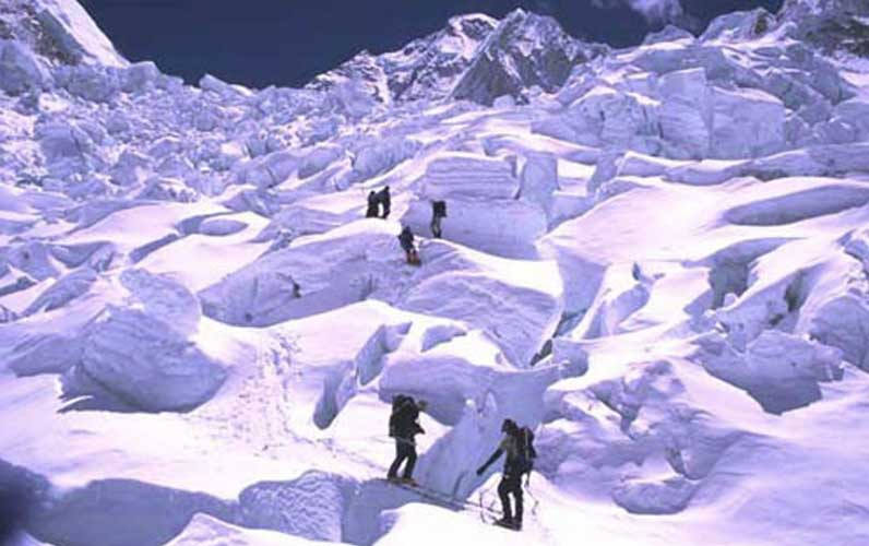 Гора Эверест (на местном