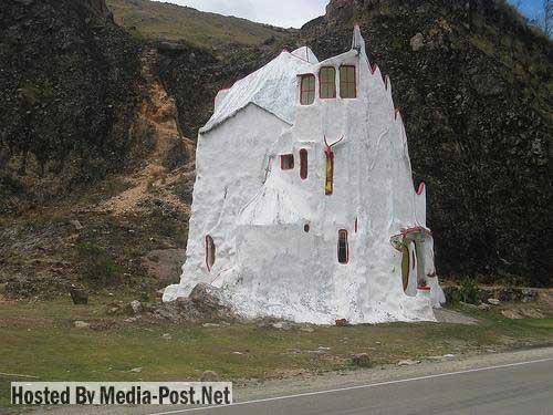 прикольный домик