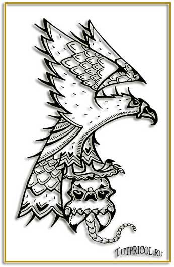 Раздел татуировки чёрно белые